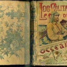 Libros antiguos: EMILIO SALGARI : LOS SOLITARIOS DEL OCÉANO - CALLEJA, TAPA DURA. Lote 39041522