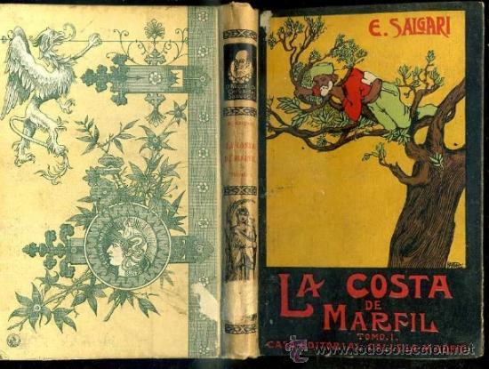 EMILIO SALGARI : LA COSTA DE MARFIL TOMO I - CALLEJA, TAPA DURA (Libros antiguos (hasta 1936), raros y curiosos - Literatura - Narrativa - Otros)