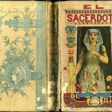 Libros antiguos: EMILIO SALGARI : EL SACERDOTE DE PHTAH - CALLEJA, TAPA DURA. Lote 39041986