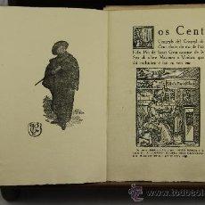 Libros antiguos: 3730- LOS CENT CONÇEYLS DEL CONÇEYL DE CENT. FRA FELIU PIU DE SANCT GUIU. EDIT. LA CAMPANA. S/F. . Lote 39053392