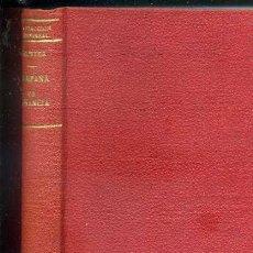 Libros antiguos: GOETHE : CAMPAÑA DE FRANCIA Y CERCO DE MAGUNCIA - 2 TOMOS EN UN VOLUMEN (CALPE, 1928) . Lote 39088883