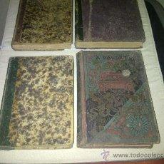 Libros antiguos: 4 LIBROS ANTIGUOS DEL SIGLO 19. Lote 39164284