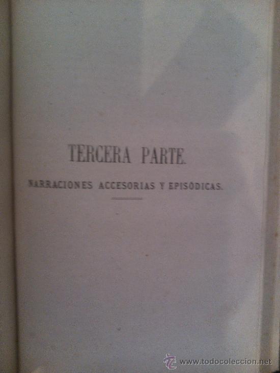 Libros antiguos: LA ALHAMBRA, RELATOS DE GRANADA. RECUERDOS DE ANDALUCIA - Foto 3 - 39245807