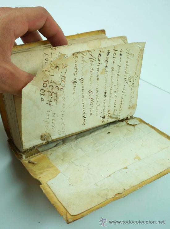 Libros antiguos: M. Tulii, Ciceronis epistolarum, libri XVI. 16x10,5 cm. - Foto 4 - 39304661