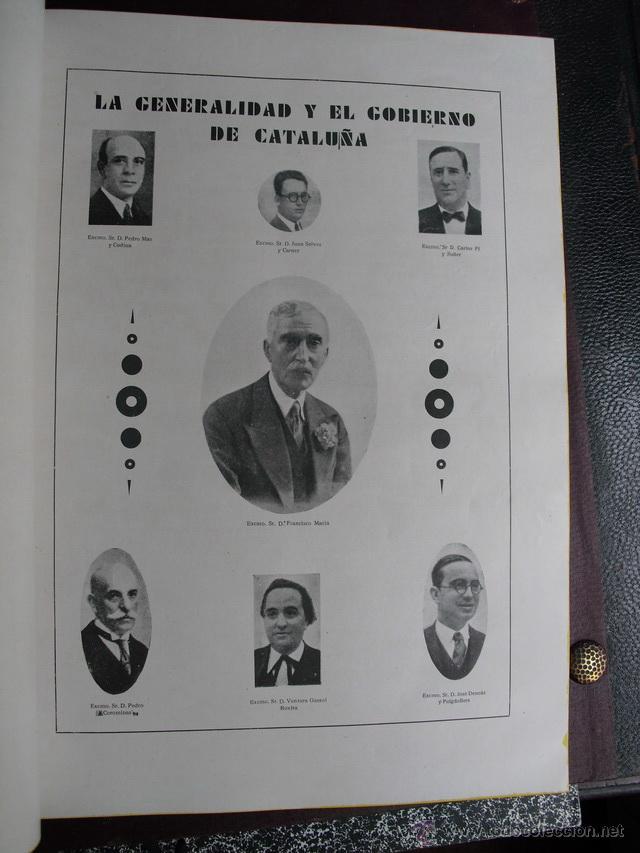 Libros antiguos: 1933 ALBUM NACIONAL DE LA ACTUALIDAD ESPAÑOLA DEDICADO A CATALUÑA CON MOTIVO DE SU AUTONOMIA - Foto 7 - 39328513