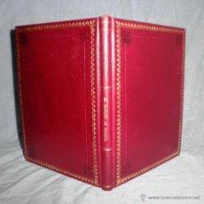 Alte Bücher - NOTICIA BIOGRAFICA DE D.M.PASCUAL Y DE BOFARULL(MARQUES DE PASCUAL).1921.ENC.LUJO EN PIEL. - 39331180