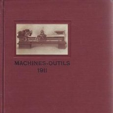 Libros antiguos: MACHINES-OUTILS. LUDW. LOEWE & CO. (MAQUINARIA, FRESADORAS). Lote 39332100