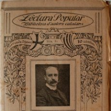 "Libros antiguos: BIBLIOTECA D'AUTORS CATALANS ""POESIES"" ARTUR MASRIERA (BARCELONA) . Lote 39355334"