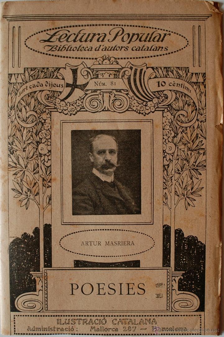 """BIBLIOTECA D'ESCRIPTORS CATALANS """"FANTASIES Y TRADICIONS"""" F.MASPONS Y LABROS (GRANOLLERS) (Libros Antiguos, Raros y Curiosos - Otros Idiomas)"""