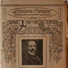 """Libros antiguos: BIBLIOTECA D'ESCRIPTORS CATALANS """"FANTASIES Y TRADICIONS"""" F.MASPONS Y LABROS (GRANOLLERS) . Lote 39355604"""