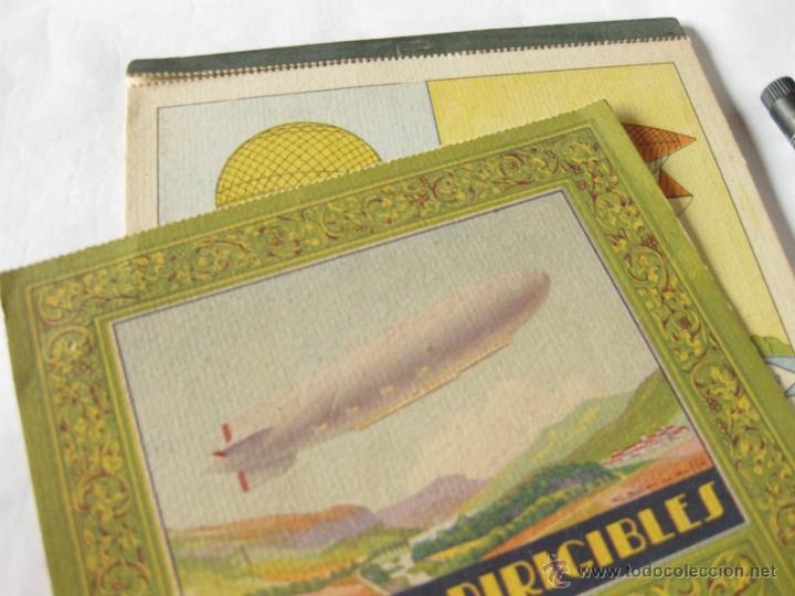 Libros antiguos: BLOQUES PARA PINTAR INSTRUCTIVOS - 8 DIBUJOS EN COLORES - EDITADO POR JUAN BARGUÑO - GLOBO DIRIGIBLE - Foto 3 - 39394167