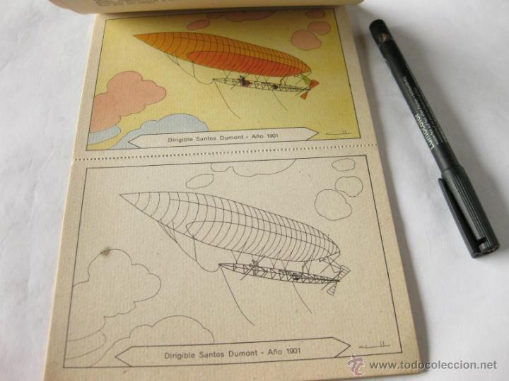 Libros antiguos: BLOQUES PARA PINTAR INSTRUCTIVOS - 8 DIBUJOS EN COLORES - EDITADO POR JUAN BARGUÑO - GLOBO DIRIGIBLE - Foto 2 - 39394167