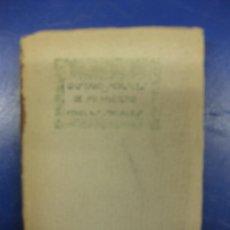 Libros antiguos: DE MI HUERTO. GUSTAVO MORALES. NOVELAS SOCIALES. IMPRENTA GRAFICA UNIVERSAL 1923.. Lote 39413665