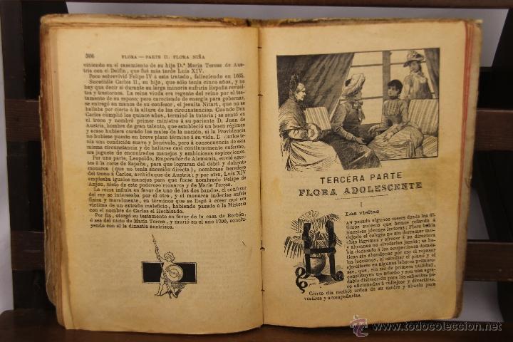 Libros antiguos: 3910- ESCENAS DE FAMILIA Y FLORA. PILAR PASCUAL DE SAN JUAN. EDIT. PALUZIE. 1895/1898. 2 TITULOS. - Foto 3 - 39414192