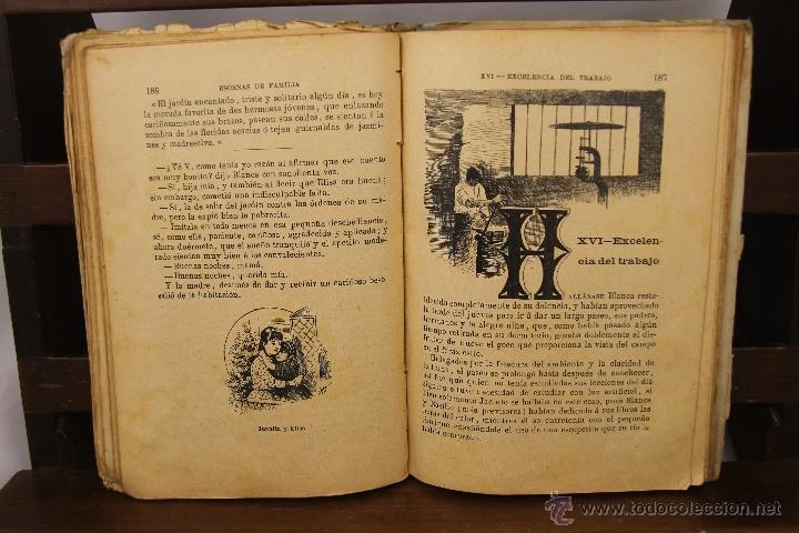 Libros antiguos: 3910- ESCENAS DE FAMILIA Y FLORA. PILAR PASCUAL DE SAN JUAN. EDIT. PALUZIE. 1895/1898. 2 TITULOS. - Foto 4 - 39414192
