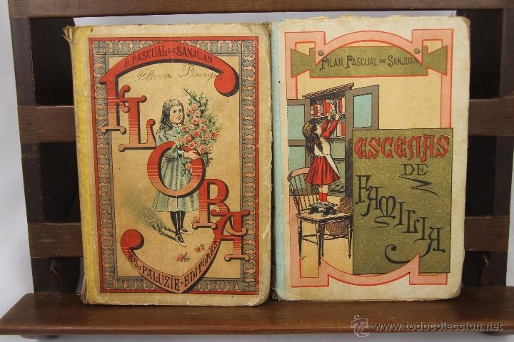 Libros antiguos: 3910- ESCENAS DE FAMILIA Y FLORA. PILAR PASCUAL DE SAN JUAN. EDIT. PALUZIE. 1895/1898. 2 TITULOS. - Foto 5 - 39414192