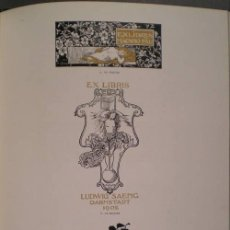 Libros antiguos: FOMENT DE LES ARTS DECORATIVES Y ANUARI DEL FOMENT DE LES ARTS DECORATIVES (8 VOLS.). Lote 39450952