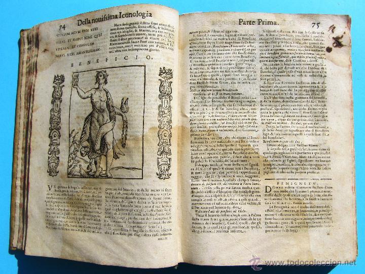Libros antiguos: DELLA NOVISSIMA ICONOLOGIA DI CESARE RIPA PERUGINO. IN PADOVA, PER PIETRO PAOLO TOZZI, 1625. - Foto 6 - 39530549