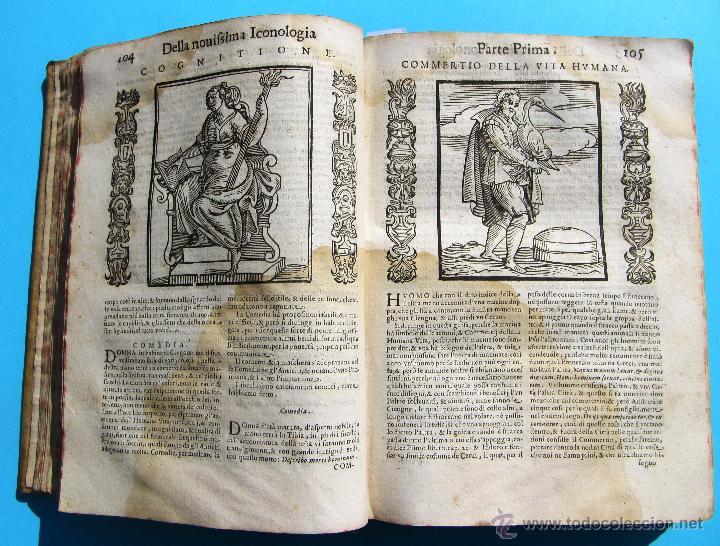 Libros antiguos: DELLA NOVISSIMA ICONOLOGIA DI CESARE RIPA PERUGINO. IN PADOVA, PER PIETRO PAOLO TOZZI, 1625. - Foto 7 - 39530549