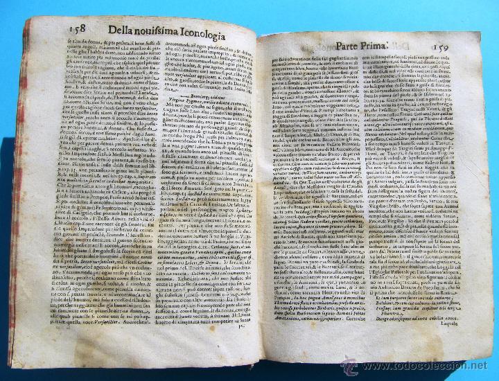 Libros antiguos: DELLA NOVISSIMA ICONOLOGIA DI CESARE RIPA PERUGINO. IN PADOVA, PER PIETRO PAOLO TOZZI, 1625. - Foto 8 - 39530549