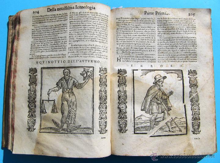 Libros antiguos: DELLA NOVISSIMA ICONOLOGIA DI CESARE RIPA PERUGINO. IN PADOVA, PER PIETRO PAOLO TOZZI, 1625. - Foto 9 - 39530549