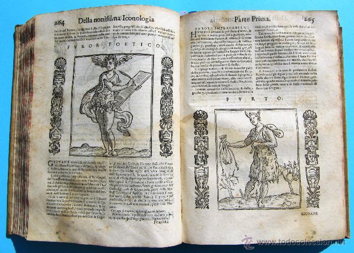 Libros antiguos: DELLA NOVISSIMA ICONOLOGIA DI CESARE RIPA PERUGINO. IN PADOVA, PER PIETRO PAOLO TOZZI, 1625. - Foto 10 - 39530549