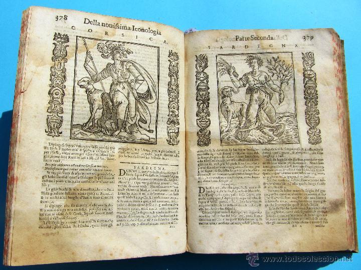 Libros antiguos: DELLA NOVISSIMA ICONOLOGIA DI CESARE RIPA PERUGINO. IN PADOVA, PER PIETRO PAOLO TOZZI, 1625. - Foto 12 - 39530549