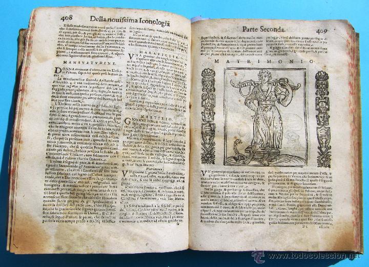Libros antiguos: DELLA NOVISSIMA ICONOLOGIA DI CESARE RIPA PERUGINO. IN PADOVA, PER PIETRO PAOLO TOZZI, 1625. - Foto 13 - 39530549
