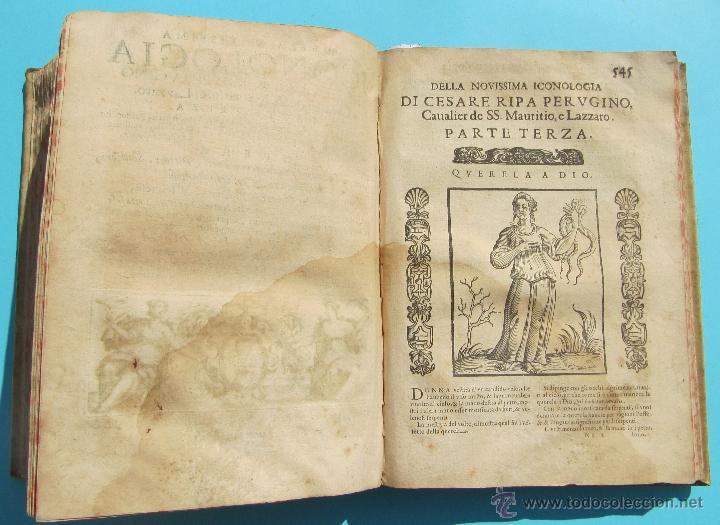 Libros antiguos: DELLA NOVISSIMA ICONOLOGIA DI CESARE RIPA PERUGINO. IN PADOVA, PER PIETRO PAOLO TOZZI, 1625. - Foto 16 - 39530549