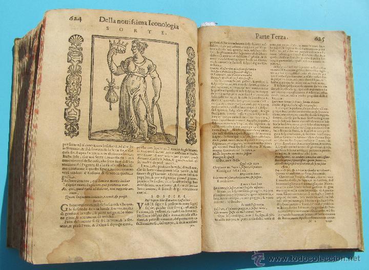 Libros antiguos: DELLA NOVISSIMA ICONOLOGIA DI CESARE RIPA PERUGINO. IN PADOVA, PER PIETRO PAOLO TOZZI, 1625. - Foto 17 - 39530549