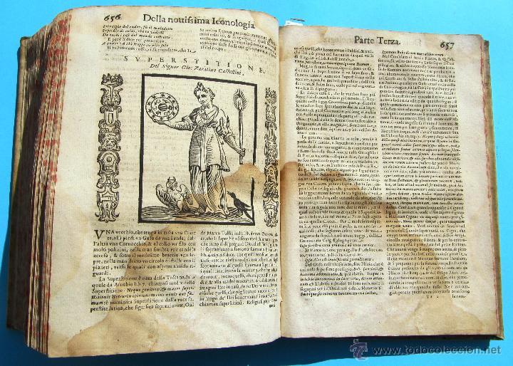 Libros antiguos: DELLA NOVISSIMA ICONOLOGIA DI CESARE RIPA PERUGINO. IN PADOVA, PER PIETRO PAOLO TOZZI, 1625. - Foto 18 - 39530549
