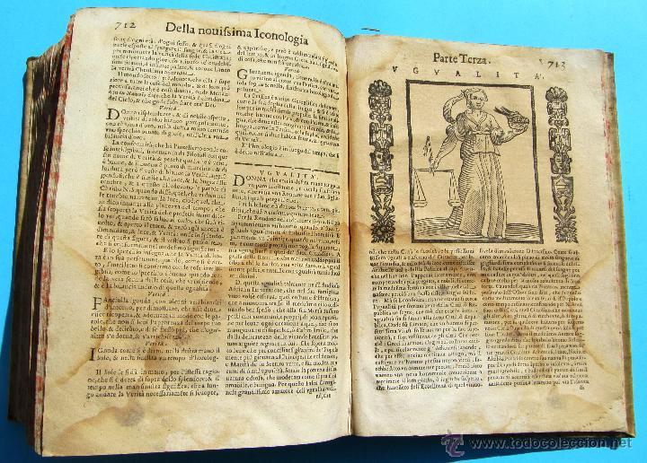 Libros antiguos: DELLA NOVISSIMA ICONOLOGIA DI CESARE RIPA PERUGINO. IN PADOVA, PER PIETRO PAOLO TOZZI, 1625. - Foto 19 - 39530549