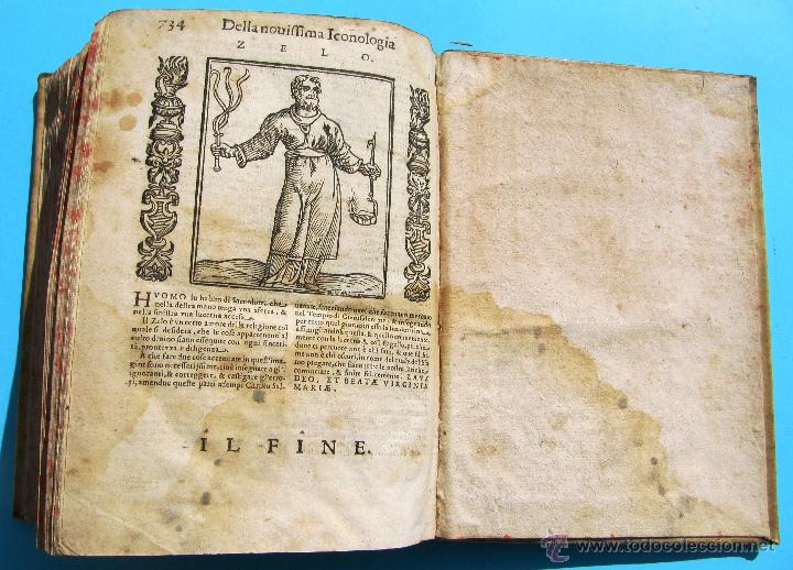 Libros antiguos: DELLA NOVISSIMA ICONOLOGIA DI CESARE RIPA PERUGINO. IN PADOVA, PER PIETRO PAOLO TOZZI, 1625. - Foto 20 - 39530549