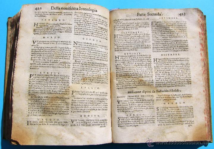 Libros antiguos: DELLA NOVISSIMA ICONOLOGIA DI CESARE RIPA PERUGINO. IN PADOVA, PER PIETRO PAOLO TOZZI, 1625. - Foto 21 - 39530549