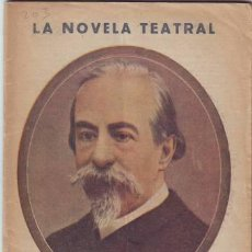 Libros antiguos: LA HISTORIA DEL DON JUAN TENORIO. LA NOVELA TEATRAL Nº 203. Lote 39472256