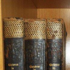 Libros antiguos: HISTORIA DE ESPAÑA. 3 TOMOS. (1852) POR EL PADRE MARIANA. (VER INDICE COMPLETO). Lote 39478785