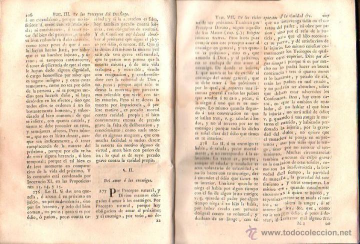 Libros antiguos: DIRECTORIO MORAL DEL REVERENDO PADRE FRANCISCO ECHARRI. 2 TOMOS. IMPRENTA REAL, MADRID. 1787. LEER - Foto 7 - 39469358