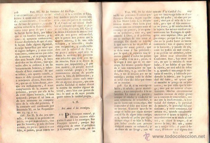 Libros antiguos: DIRECTORIO MORAL DEL REVERENDO PADRE FRANCISCO ECHARRI. 2 TOMOS. IMPRENTA REAL, MADRID. 1787. LEER - Foto 6 - 39469358
