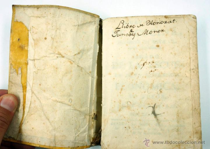 Libros antiguos: Nuevo arte de cocina, sacado de la escuela de la experiencia, Juan Altamiras, Gerona año 1770. - Foto 6 - 39514111