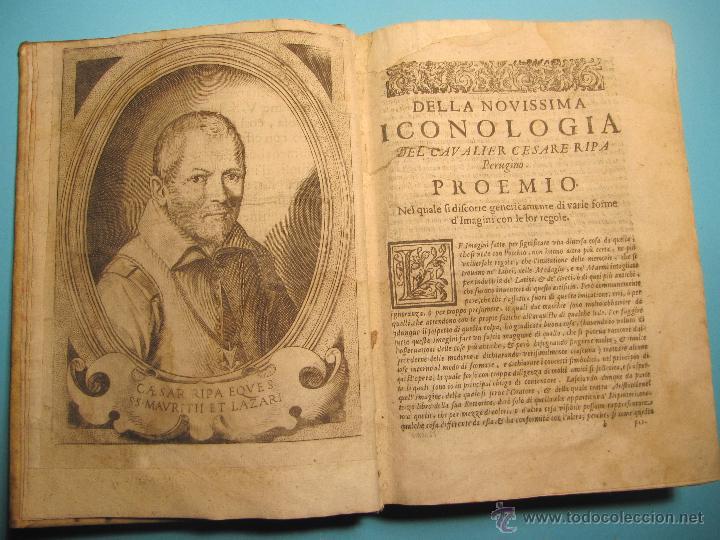 Libros antiguos: DELLA NOVISSIMA ICONOLOGIA DI CESARE RIPA PERUGINO. IN PADOVA, PER PIETRO PAOLO TOZZI, 1625. - Foto 4 - 39530549
