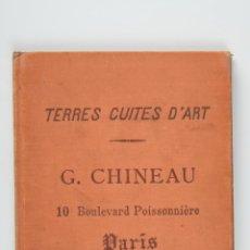 Libri antichi: TERRES CUITES D'ART POR G.CHINEAU, AÑO 1888. Lote 39530693