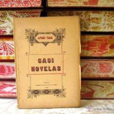 Libros antiguos: CASI NOVELAS . AUTOR : TABAR, ALFREDO . Lote 39554505