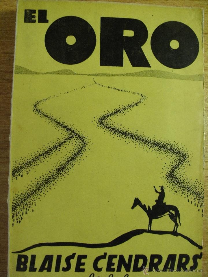 EL ORO - BLAISE CENDRARS – DEDALO 1931 (Libros antiguos (hasta 1936), raros y curiosos - Literatura - Narrativa - Otros)