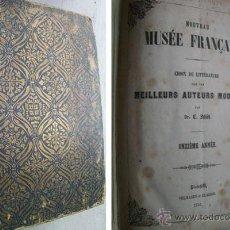 Libros antiguos: NOUVEAU MUSÉE FRANÇAIS. 11 + 12 ANNÉE : SACAS ET PARCHEMINS; JULES; UNE SONATE DE BEETHOVEN...1851. Lote 39603087