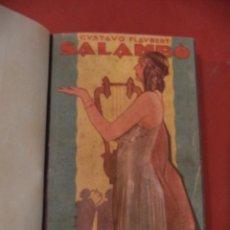 Libros antiguos: SALAMBÓ. LOS PRINCIPES DE LA LITERATURA XIV. GUSTAVO FLAUBERT. EDITORIAL CERVANTES. BARCELONA.1928.. Lote 39609735