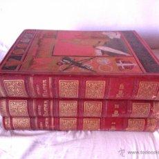 Libros antiguos: MUSEO MILITAR, HISTORIA DEL EJERCITO ESPAÑOL (1883-87), FRANCISCO BARADO. Lote 39628637