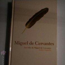 Libros antiguos: LAS VIDAS DE MIGUEL DE CERVANTES DE ANDRES TRAPIELLO. Lote 31517545