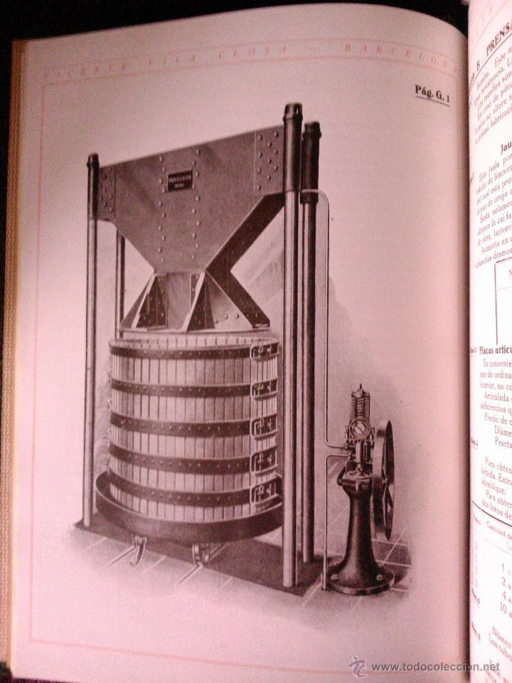 Libros antiguos: CATALOGO GENERAL DE VITICULTURA ,VINICULTURA Y ENOLOGÍA, VICENTE VILA CLOSA 1928 - Foto 3 - 39661856