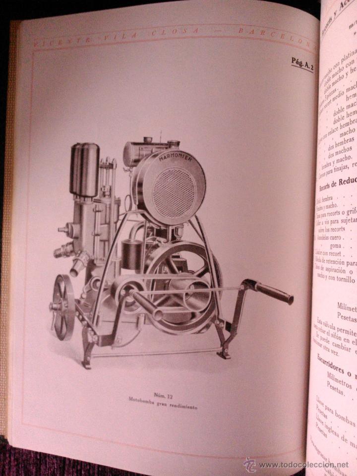 Libros antiguos: CATALOGO GENERAL DE VITICULTURA ,VINICULTURA Y ENOLOGÍA, VICENTE VILA CLOSA 1928 - Foto 4 - 39661856