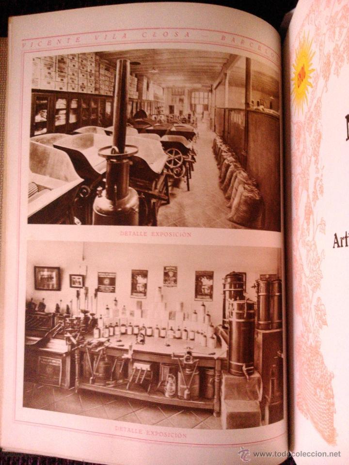 Libros antiguos: CATALOGO GENERAL DE VITICULTURA ,VINICULTURA Y ENOLOGÍA, VICENTE VILA CLOSA 1928 - Foto 5 - 39661856